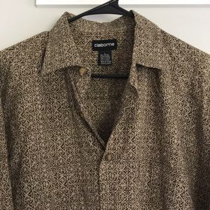 Men's brown shirt